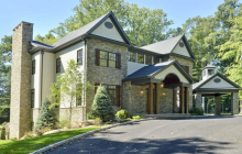 $4.395 Million Newly Built Stone & Shingle Home In Saddle River, NJ