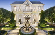 French Chateau Inspired Limestone Home In Victoria, Australia