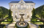 French Chateau Inspired Limestone Home In Victoria, Australia