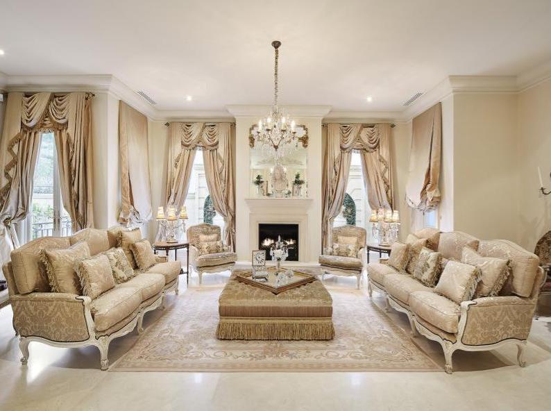french chateau inspired limestone home in victoria australia - Limestone Home 2016