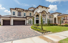 Newly Built Stone & Stucco Home In Sugar Land, TX