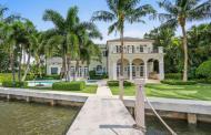 $15.85 Million Lakefront Mansion In Palm Beach, FL