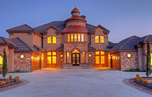 $1.3 Million Stone & Stucco Home In Montgomery, TX