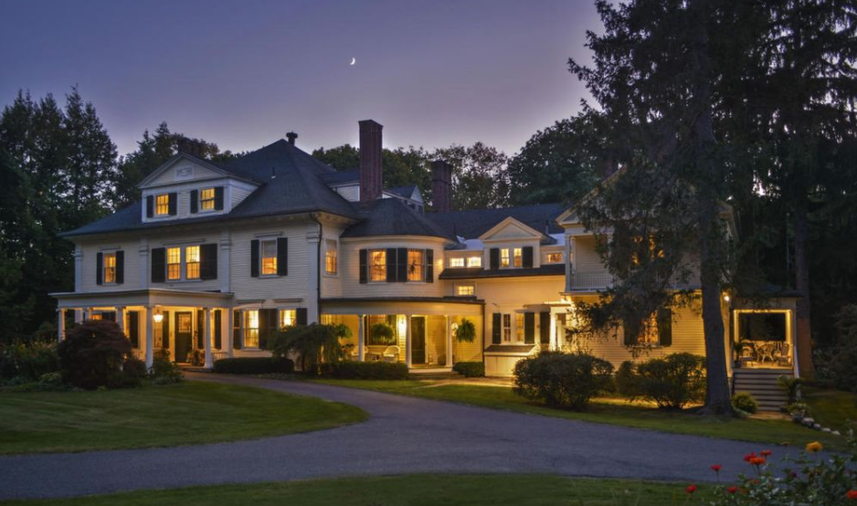 10,000 Square Foot Historic Mansion In Lenox, MA