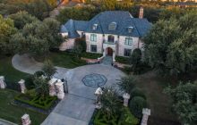 $2.75 Million Brick Mansion In Dallas, TX