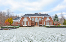 $2.5 Million Brick Mansion In Strongsville, OH