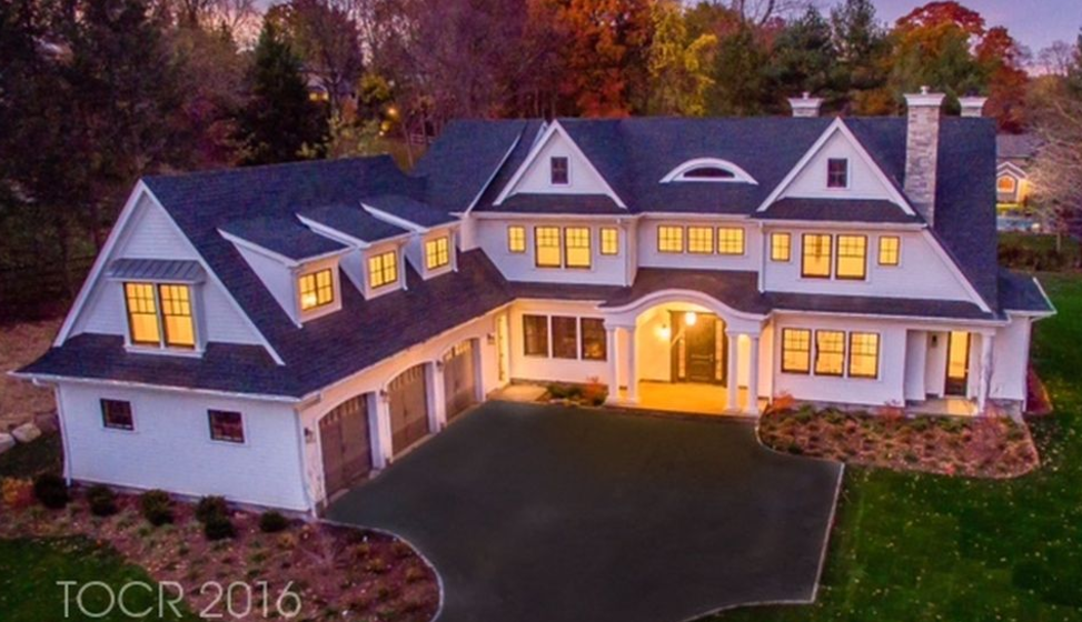 $2.395 Million Newly Built Shingle Home In Upper Saddle River, NJ