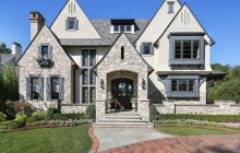 $3.699 Million Stone & Stucco Home In Hinsdale, IL