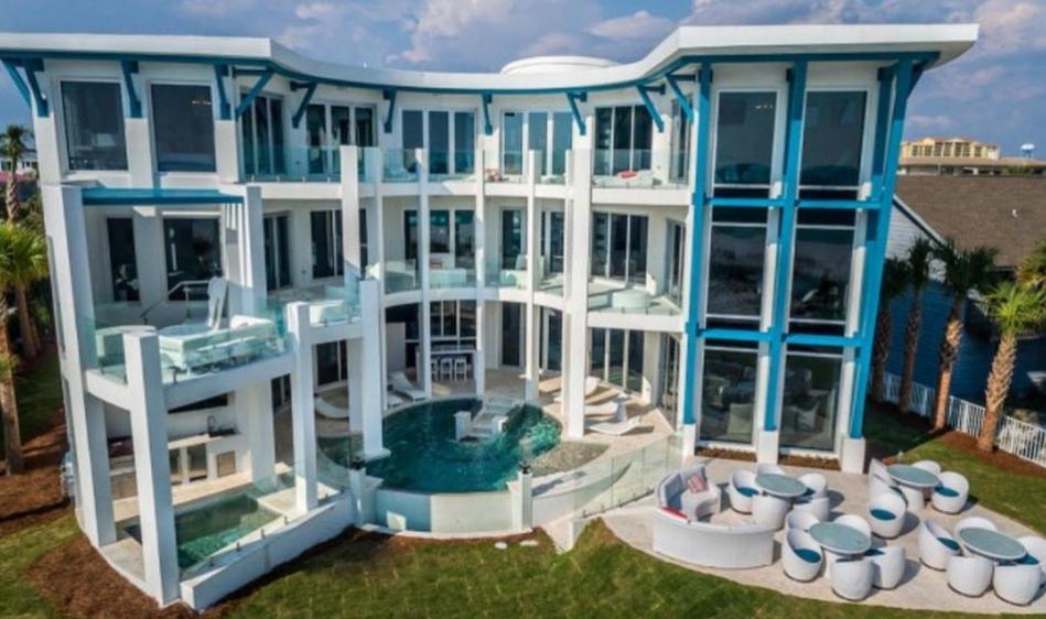 9 8 Million Newly Built Beachfront Mansion In Destin Fl