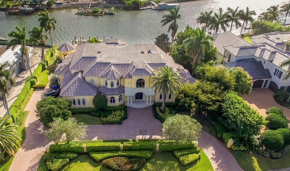 $7.795 Million Mediterranean Waterfront Home In Naples, FL
