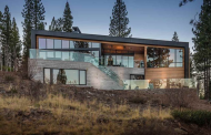 $6.495 Million Newly Built Contemporary Home In Truckee, CA