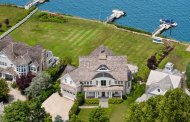 $6.7 Million Colonial Shingle Waterfront Home In Old Greenwich, CT