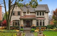 $2 Million Stone & Stucco Home In Hinsdale, IL