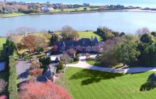 $65 Million Historic Lakefront Estate In Southampton, NY