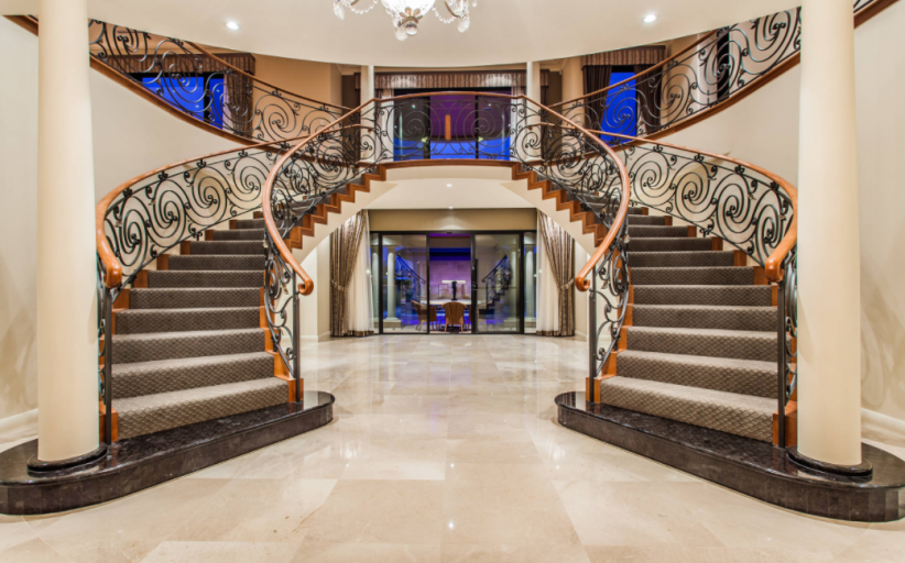8 Beautiful Double Staircases
