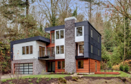 $2.899 Million Newly Built Contemporary Home In Mercer Island, WA