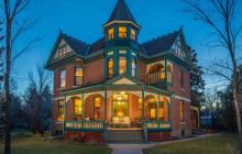 11,000 Square Foot Historic Victorian Mansion In Bozeman, MT