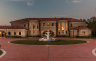 11,000 Square Foot Stucco Mansion In Fresno, TX