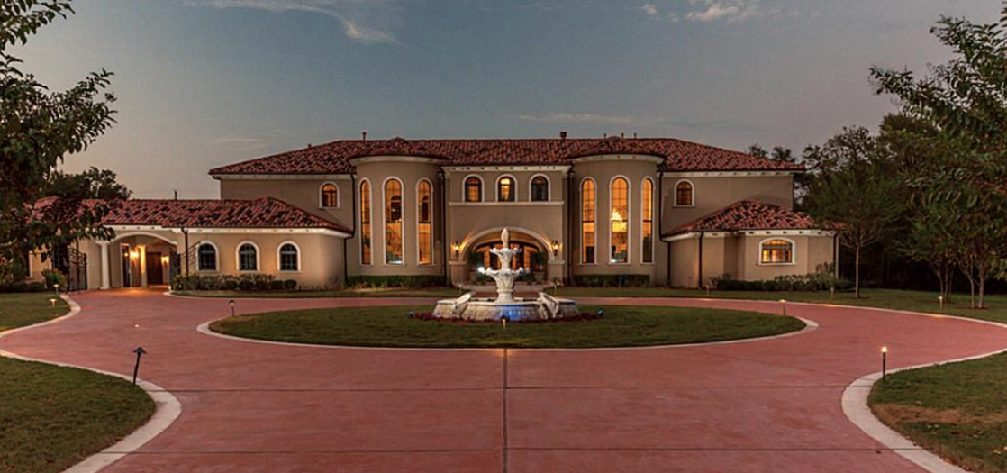 11 000 Square Foot Stucco Mansion In Fresno Tx Homes Of