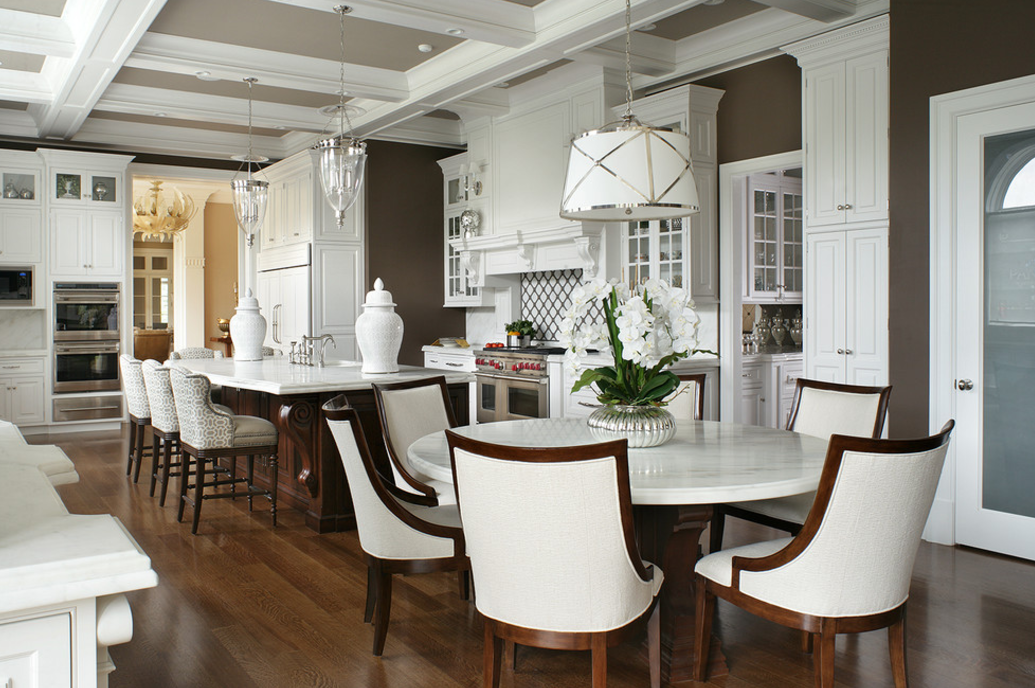 15 Stunning Gourmet Kitchens Homes Of The Rich