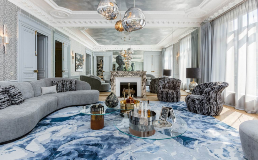 €7.7 Million Beautiful Apartment In Paris, France