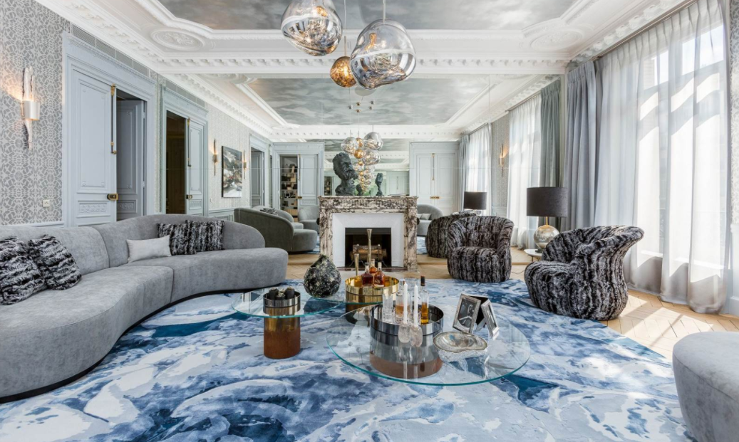 €7.7 Million Beautiful Apartment In Paris, France | Homes ...