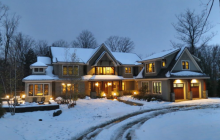 $2.75 Million Wood & Shingle Home In Stratton, VT
