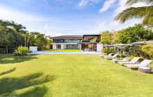 $29.5 Million Newly Built Contemporary Waterfront Mansion In Miami Beach, FL