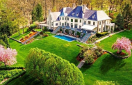 $5.4 Million French Country Mansion In Far Hills, NJ