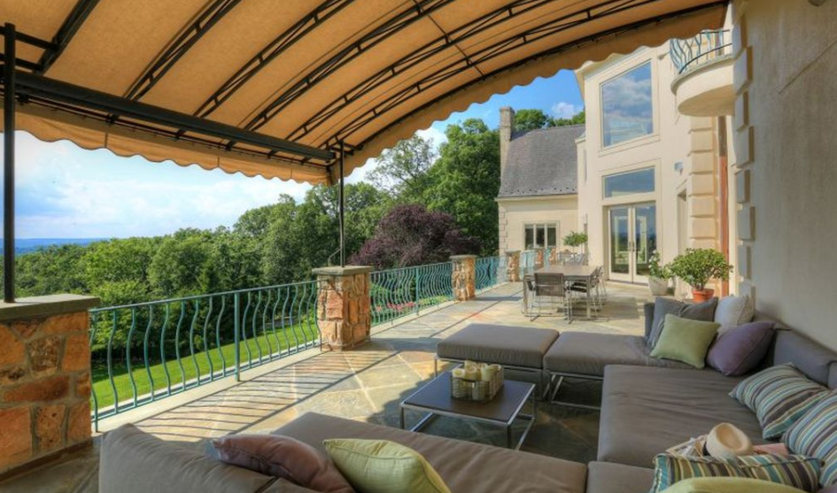 5 4 Million French Country Mansion In Far Hills Nj