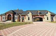 $2.4 Million Brick & Stone Home In Rochester Hills, MI