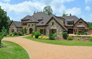 $2.795 Million Brick & Stone Mansion In Greensboro, NC