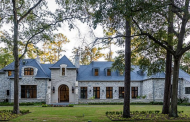 12,000 Square Foot Newly Built Stone Mansion In Piney Point Village, TX