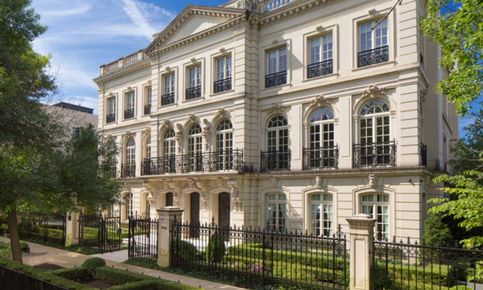 incredible limestone mega mansion in chicago il lists for 50 million - Limestone Home 2016