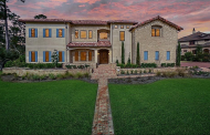 $3.35 Million Newly Built Stone & Stucco Mansion In The Woodlands, TX
