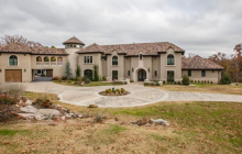 $2.5 Million Stone & Stucco Mansion In Tulsa, OK