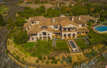 15,000 Square Foot Italian Inspired Mansion In Poway, CA