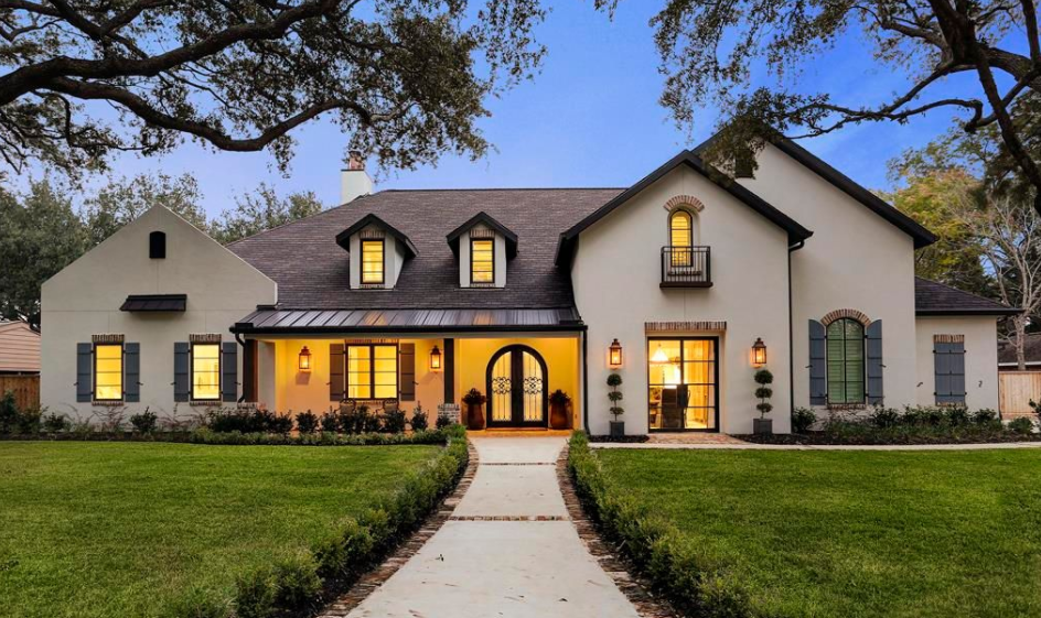 2 2 Million Newly Built French Inspired Stucco Home In