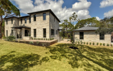 $2.9 Million Newly Built Contemporary Stone Home In West Lake Hills, TX