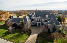 14,000 Square Foot Brick & Stone Mansion In Brentwood, TN