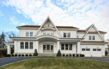 $4.995 Million Newly Built Colonial Home In Old Greenwich, CT