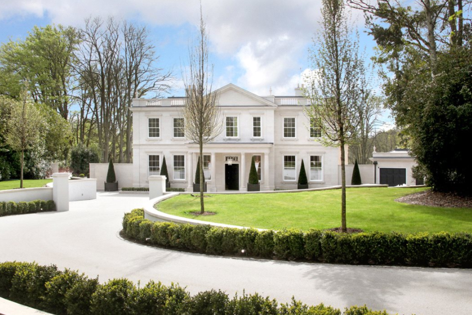 18,000 Square Foot Newly Built Mansion In Surrey, England