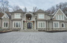 $2.5 Million Newly Built Stone & Stucco Home In Montville, NJ