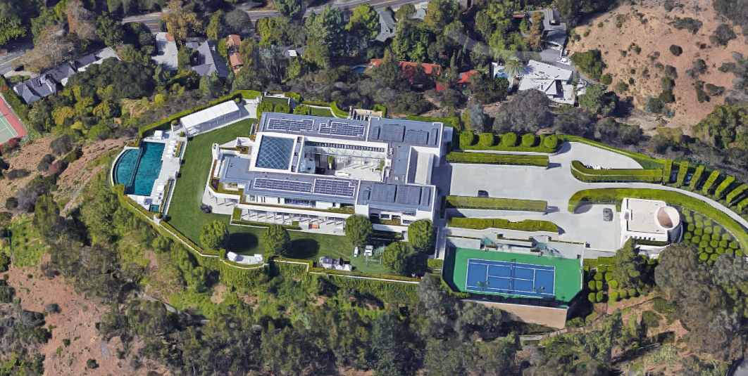 55 000 Square Foot Modern Mega Estate In Beverly Hills Ca