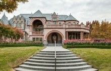 14,000 Square Foot Stone Mansion In Dallas, TX