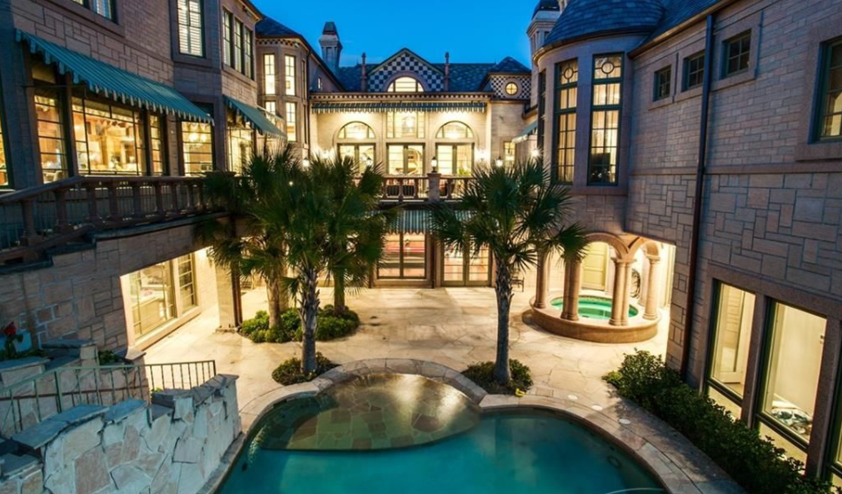 14 000 Square Foot Stone Mansion In Dallas Tx Homes Of