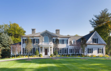 $5.395 Million Newly Built Colonial Mansion In Rye, NY