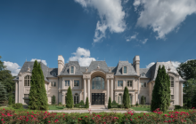 Breathtaking French Inspired Limestone Mansion In Alpine, NJ