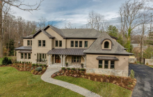 11,000 Square Foot Newly Built Brick & Stone Mansion In McLean, VA