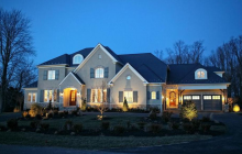 $3.5 Million Newly Built Brick & Stone Mansion In Great Falls, VA